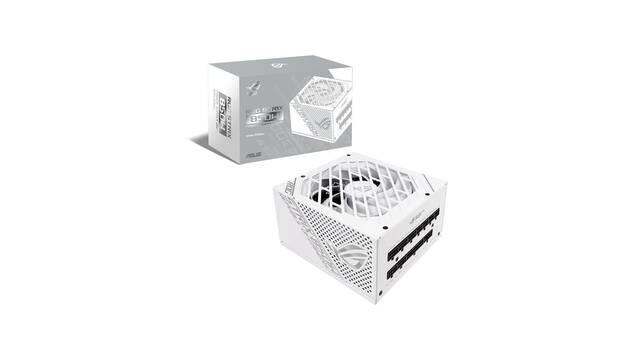 ASUS lanza su nueva fuente de alimentación 80 Plus Gold, la ROG Strix 850W White Edition
