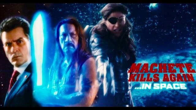 Danny Trejo vuelve a soñar con Machete Kills Again in Space