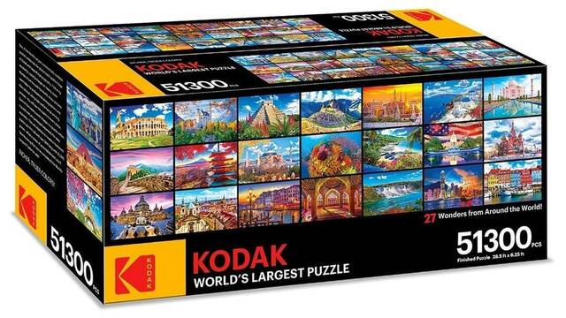 Kodak presenta el puzle de 51.300 piezas que amenizará tu cuarentena