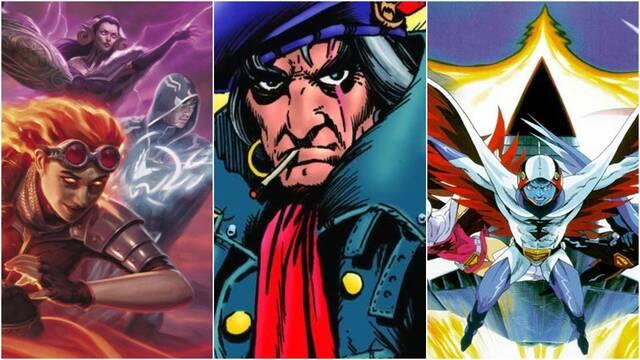 Joe Russo da detalles de la serie de Magic: The Gathering, Grimjack y Battle of the Planets
