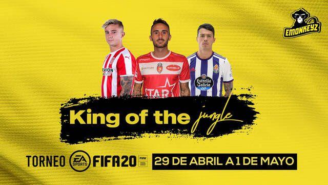 eMonkeyz organiza King of the Jungle, un torneo de FIFA con jugadores del Manchester City