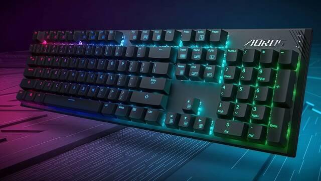 Aorus K1 es el nuevo teclado mecánico con pulsadores Cherry MX de Gigabyte