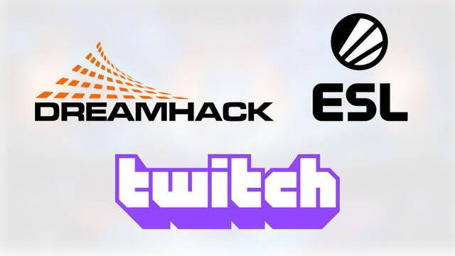 Twitch retransmitirá en exclusiva las competiciones más importantes de ESL y DreamHack