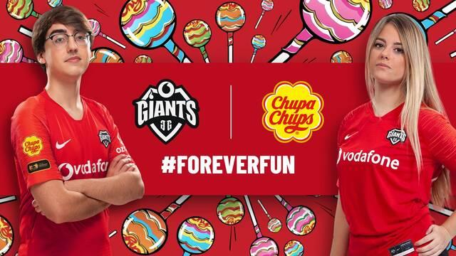 Chupa Chups se convierte en el nuevo patrocinador de Vodafone Giants