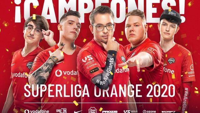Vodafone Giants gana la gran final de la Superliga Orange
