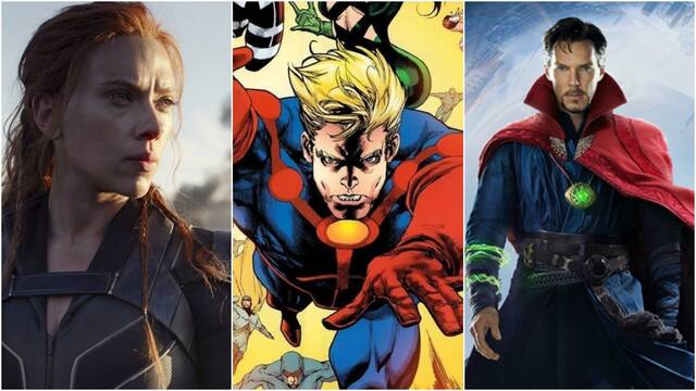 Marvel: Disney cambia las fechas de estreno de las películas de la Fase 4