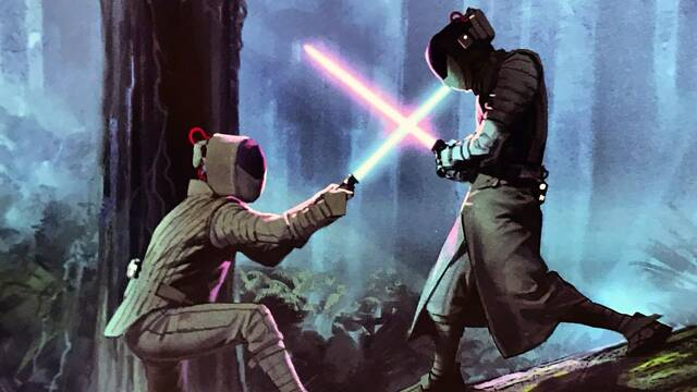 Star Wars: Nuevas imágenes del flashback de Leia y Luke en El Ascenso de Skywalker