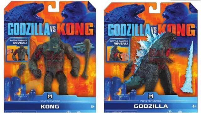 Godzilla vs Kong: Nuevos juguetes adelantan más monstruos para la película