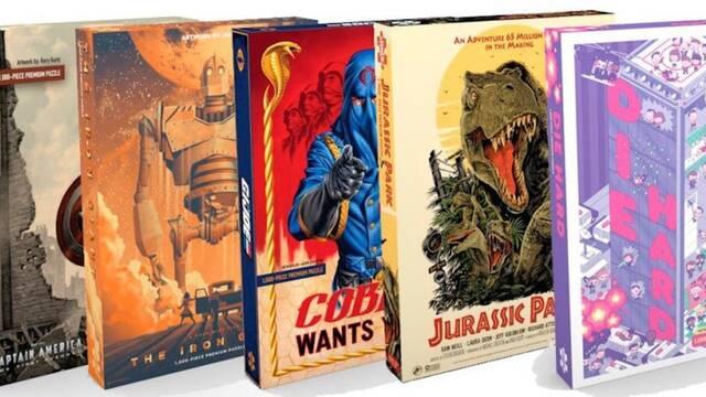 Mondo lanzará puzles de Jurassic Park, Capitán América o Gremlins