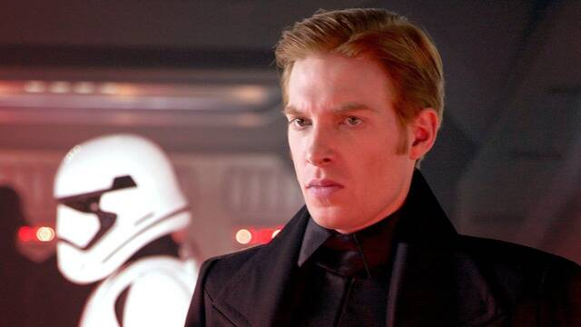 Star Wars: Domhnall Gleeson no está conforme con el destino de Hux tras el Episodio 9