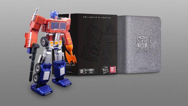 Transformers: Hasbro diseña un Optimus Prime que se transforma en robot de forma automática