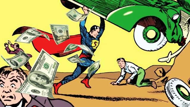 Subastan el primer cómic de Superman por una cifra récord: 3,25 millones