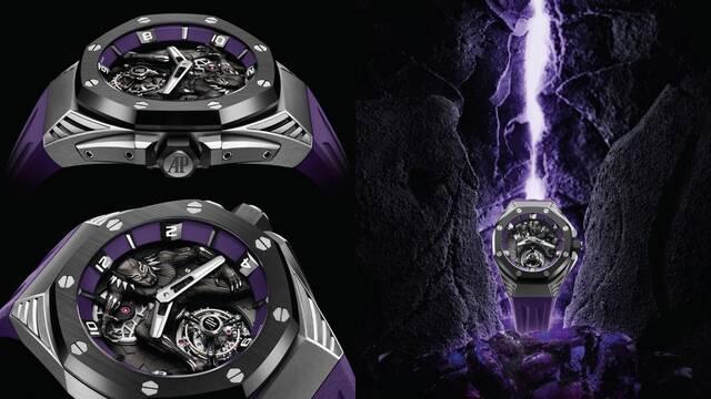 Wakanda O'Clock: Audemars Piguet diseña un reloj de lujo de Black Panther