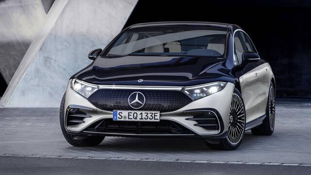 Mercedes-Benz presenta su coche eléctrico de gran lujo con 700 km de autonomía