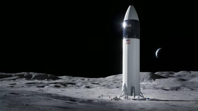 La NASA elige a SpaceX y su Starship para aterrizar en la Luna