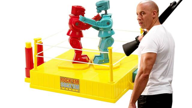 Vin Diesel protagonizará la película Rock 'em Sock 'em, el famoso juego de mesa