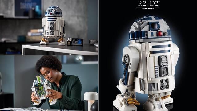 LEGO presenta su nueva e increíble réplica de R2-D2 para celebrar el día de Star Wars