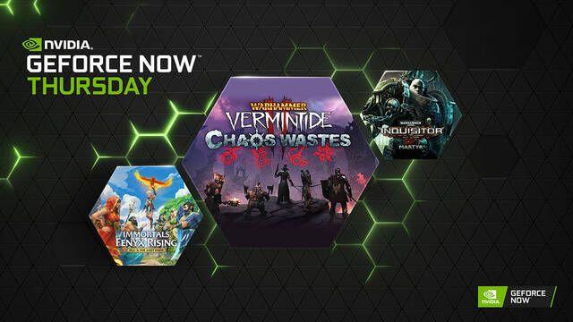 GeForce Now recibe esta semana 15 nuevos juegos