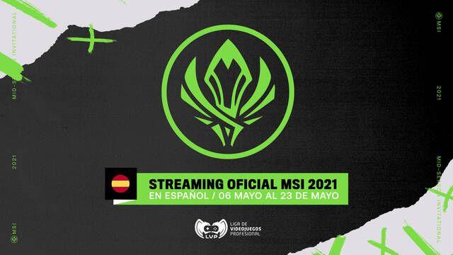 LVP retransmitirá en España el MSI 2021 de League of Legends