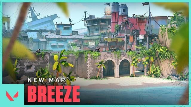 Breeze, el nuevo mapa de Valorant, no podrá jugarse en competitivo durante 2 semanas
