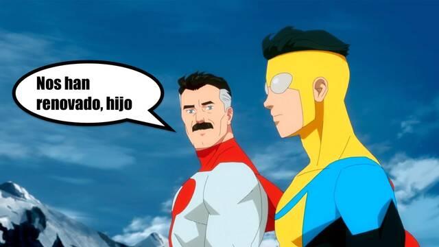 Invincible: La serie de superhéroes de Amazon tendrá dos temporadas más