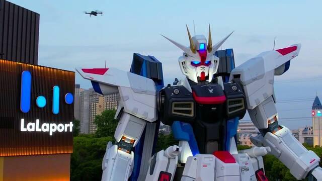 China ya tiene su propio Gundam gigante a tamaño real