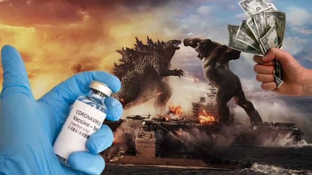'Godzilla vs Kong' es el mayor estreno cinematográfico durante la pandemia de COVID-19