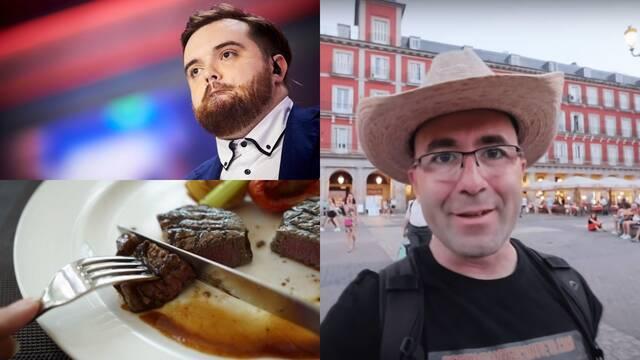 Acusan de caníbal al youtuber Sezar Blue e Ibai Llanos bromeando alimenta los rumores