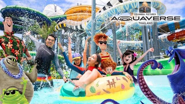 Sony inaugura el parque acuático Aquaverse en Tailandia