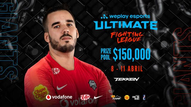 Caiper es el único español en el WePlay Ultimate Fighting League de Tekken 7