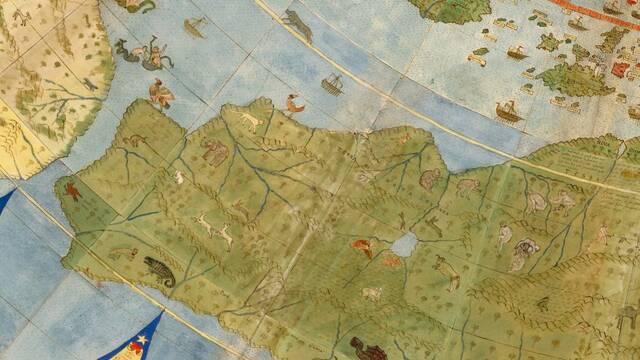 Así es el mapamundi más grande y completo de la antigüedad