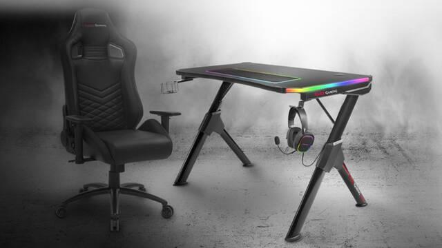 Mars Gaming nos presenta su mesa para jugadores MGD RGB