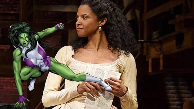 Renée Elise Goldsberry de Hamilton se une al reparto de She-Hulk para Disney+