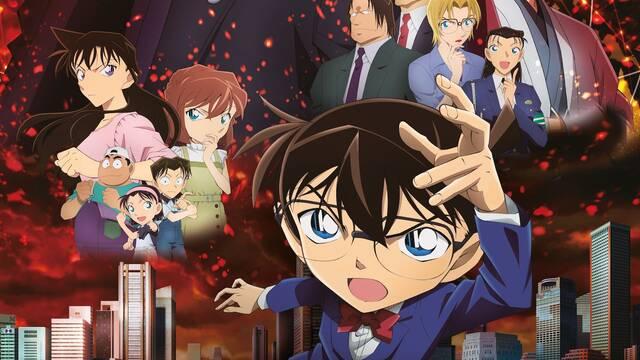 Detective Conan: La bala escarlata se estrenará en los cines españoles el 16 de abril