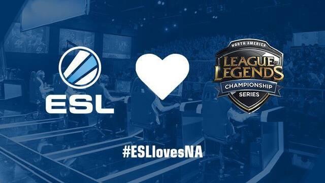 La ESL retransmitirá el Split de verano de la LCS NA