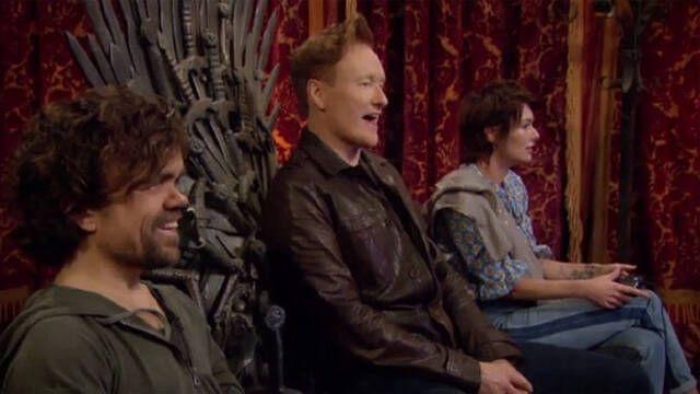 Los actores de Juego de Tronos juegan a Overwatch en el programa de Conan O'Brien