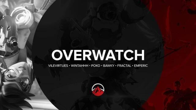 Elevate presenta su equipo para Overwatch