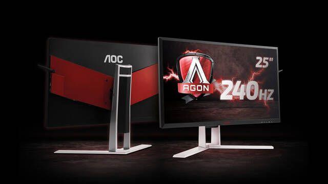 AOC presenta su nuevo monitor para gamers con 240Hz y G-SYNC