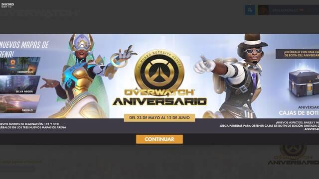 Descubre las 11 nuevas skins de Overwatch Aniversario