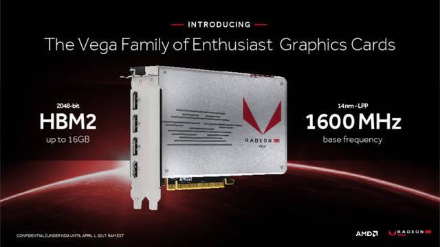 La tarjeta gráfica AMD Radeon RX Vega será presentada en Julio