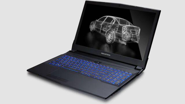 Nuevo Mountain Onyx 15 con Intel Core i7 y NVIDIA GTX 1050