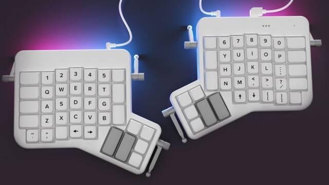 """Ergodox Ez, el teclado mecánico """"partido"""" que comienza a estar de moda en medio mundo"""