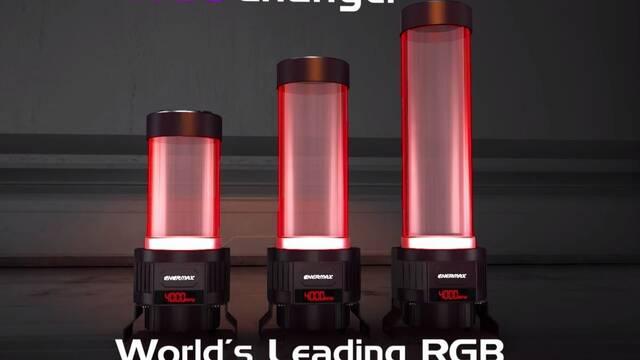 Enermax presenta NEOChanger, un depósito con bomba personalizable mediante iluminación LED RGB