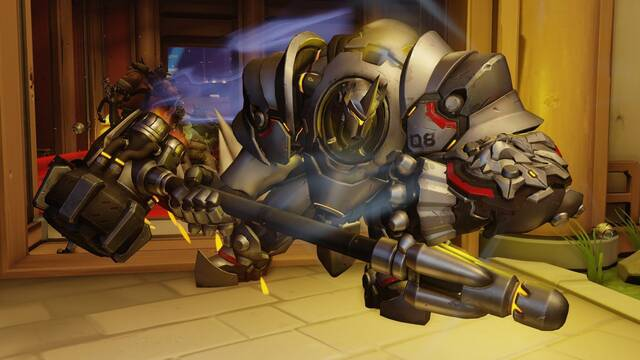 Blizzard investiga una reducción accidental en el DPS de Reinhardt en Overwatch