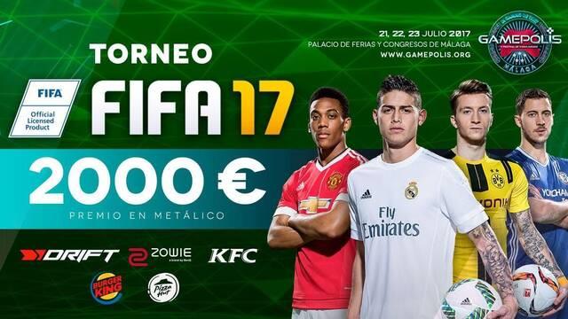 Gamepolis tendrá un torneo de FIFA 17 con 2000 euros en premios