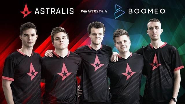 Astralis llega a un acuerdo de patrocinio con la plataforma de entrenamiento Boomeo