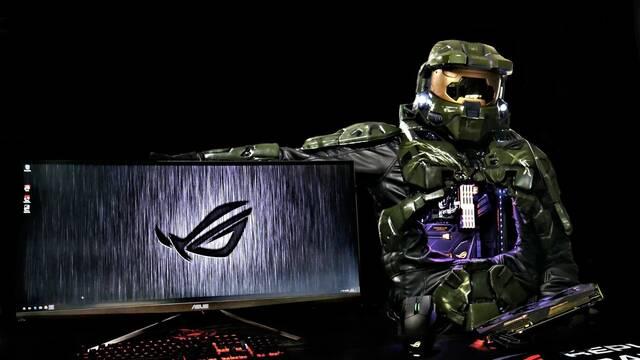 Este PC inspirado en Halo te va a impresionar