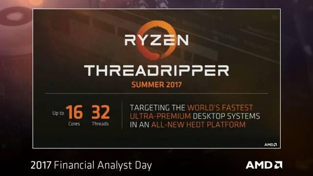 AMD pondrá a la venta durante el verano los Ryzen Threadripper y Epyc durante junio
