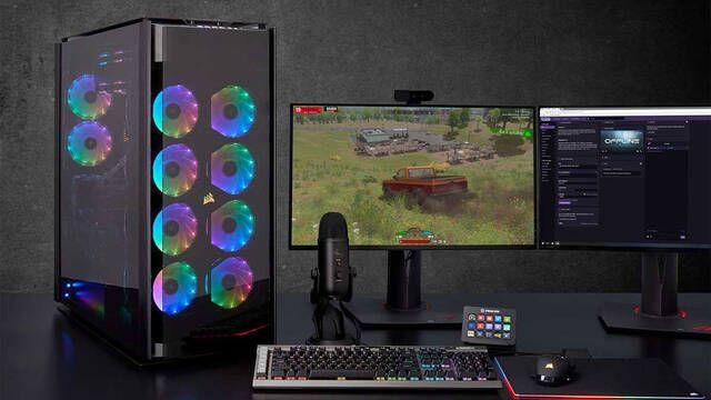 Obsidian 1000D es el súper chasis de Corsair para PC