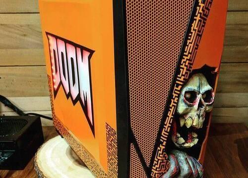 El PC Modding de los viernes: la caja de Doom